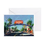 University Heights Sign Greeting Cards (Pk of 10)
