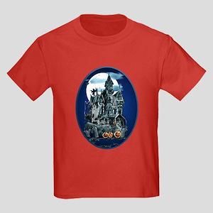 Haunted House Kids Dark T-Shirt