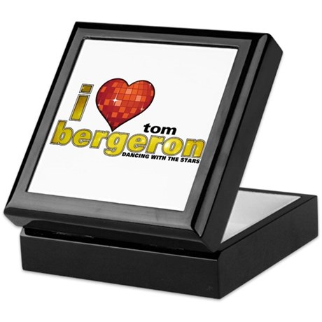 I Heart Tom Bergeron Keepsake Box