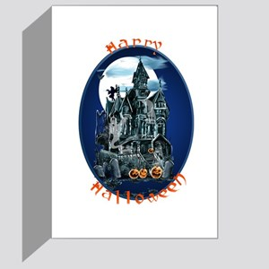 Haunted House_Happy Halloween Greeting Card