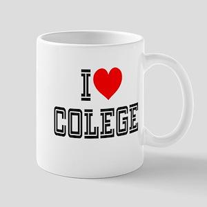 I Heart Colege: Mug