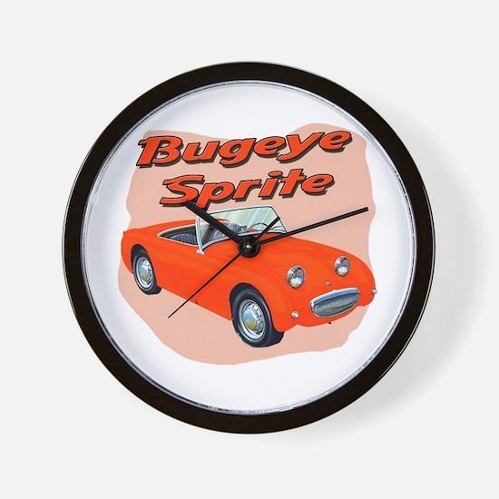 Bugeye Sprite Wall Clock