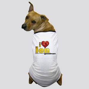 I Heart Len Goodman Dog T-Shirt