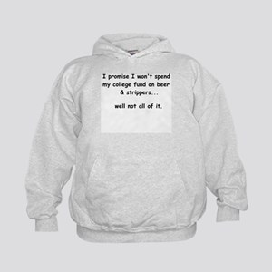 I promise I won't spend my co Kids Hoodie