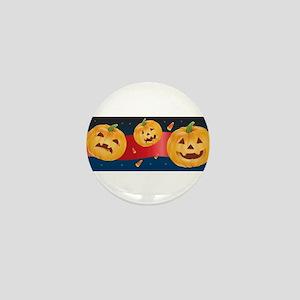 HALLOWEEN JACK-O-LANTERNS Mini Button