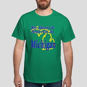 Heart & Soul - Michigan Dark T-Shirt