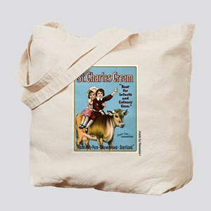 St. Charles Cream Tote Bag