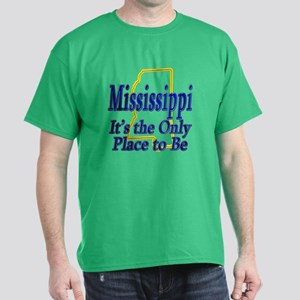 Only Place To Be - Mississippi Dark T-Shirt
