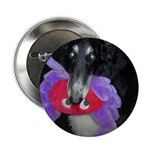 "Borzoi Barnabas and Toy 2.25"" Button (10 pack)"