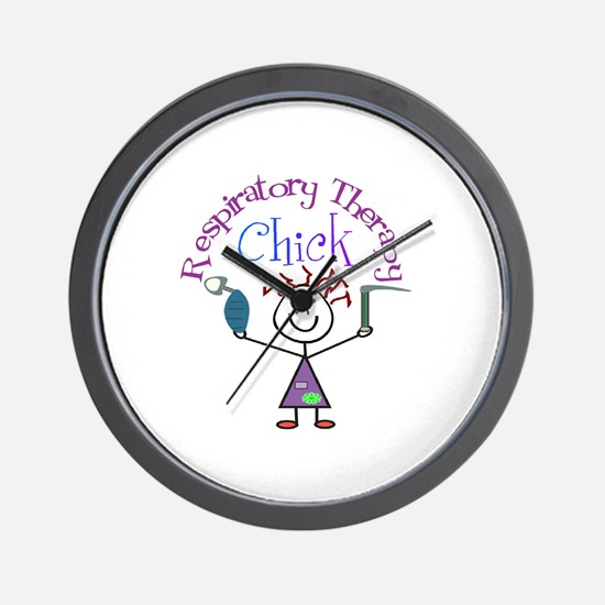 Respiratory Therapy 9 Wall Clock