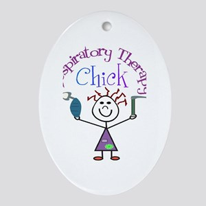 Respiratory Therapy 9 Ornament (Oval)