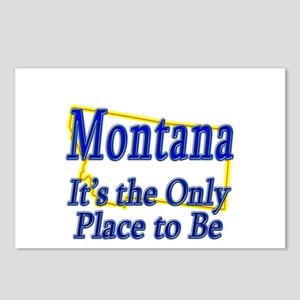Only Place To Be - Montana Postcards (Package of 8