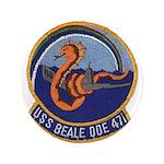 "USS BEALE 3.5"" Button"