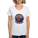 USS BEALE Women's V-Neck T-Shirt