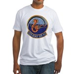 USS BEALE Fitted T-Shirt