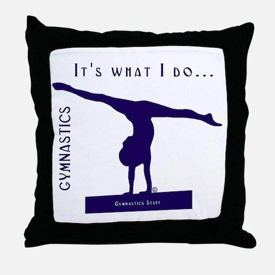 Gymnastics Throw Pillow - Do