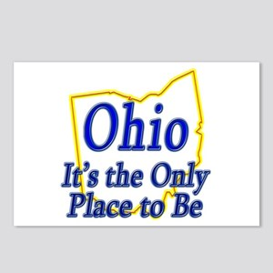 Only Place To Be - Ohio Postcards (Package of 8)