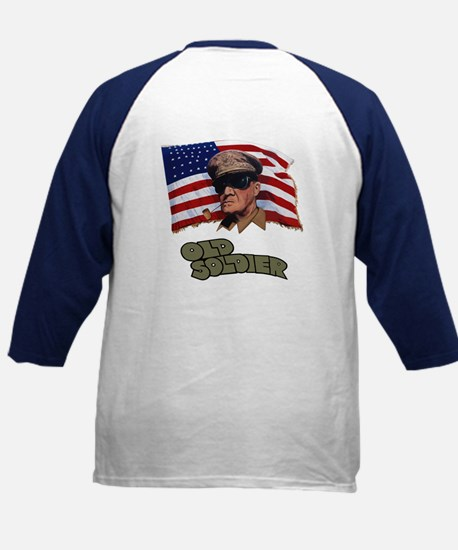 Old Soldier Kid's Baseball Jersey
