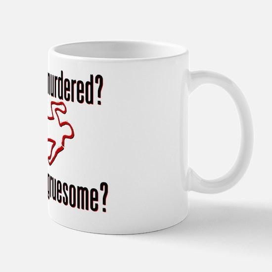 Who was murdered? Mug