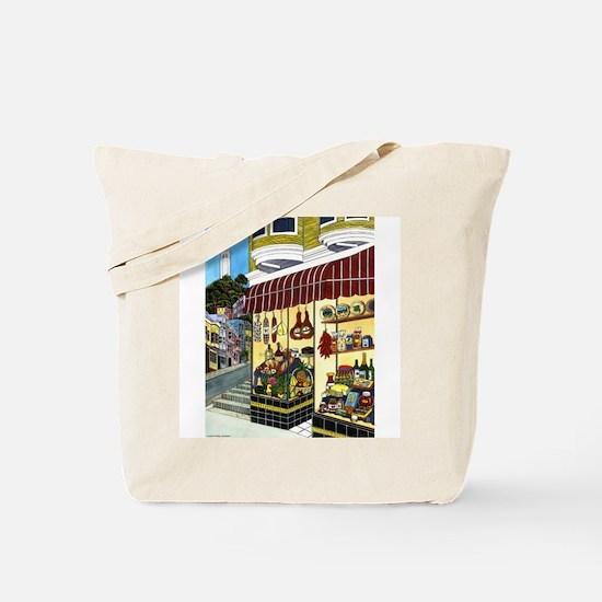 San Francisco Deli Tote Bag