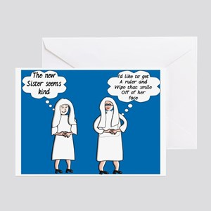 Funny nuns greeting cards cafepress nuns jubilee greeting cards pk of 20 m4hsunfo