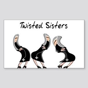Nuns Jubilee Sticker (Rectangle 10 pk)