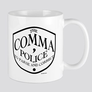 Comma Police Mugs