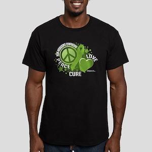Non-Hodgkins Lymphoma PLC Men's Fitted T-Shirt (da