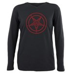 Sigil Of Baphomet Womens Plus Size T-Shirt