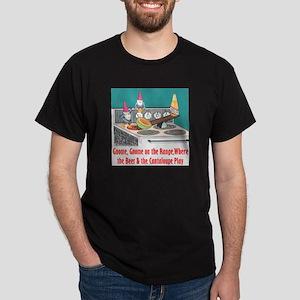 Gnome on the Range Black T-Shirt