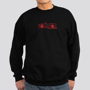 1964 Ford Mustang Convertible Sweatshirt (dark)