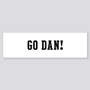 Go Dan Bumper Sticker