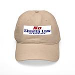NO Sharia Law in America Cap