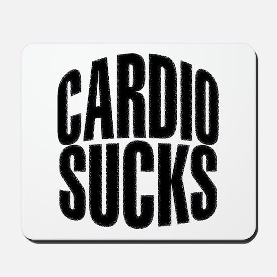 Cardio Sucks Mousepad