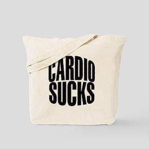 Cardio Sucks Tote Bag