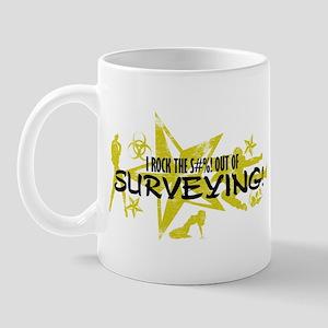 I ROCK THE S#%! - SURVEYING Mug