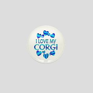 Corgi Mini Button