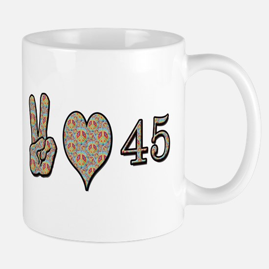 Unique Forty fifth birthday Mug