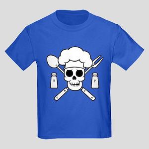 Chef Pirate Kids Dark T-Shirt