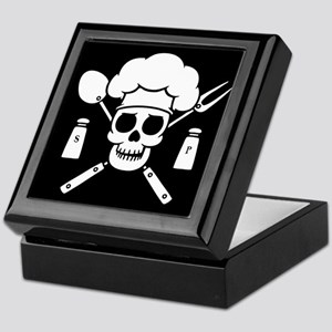 Chef Pirate Keepsake Box