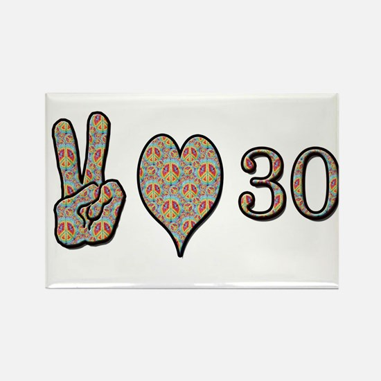 Cute 30th birthday Rectangle Magnet