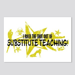 I ROCK THE SNOT - SUB TEACHING Postcards (Package
