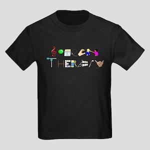 Speech Therapy Kids Dark T-Shirt