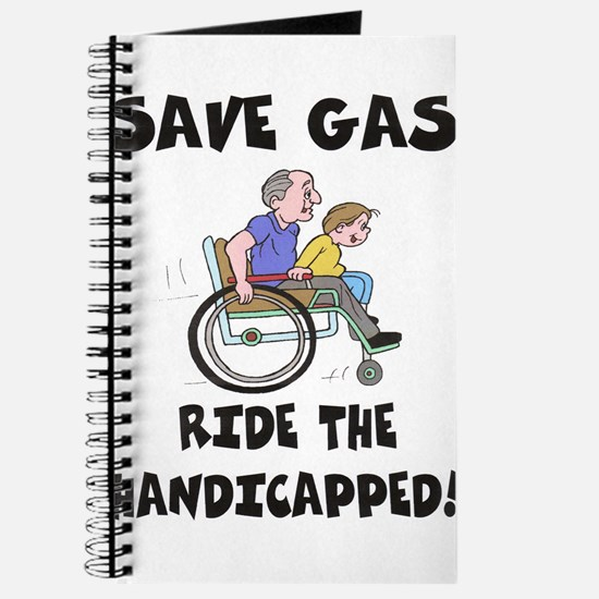 SAVE GAS, RIDE THE HANDICAPPE Journal