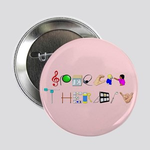 "Speech Therapy 2.25"" Button"