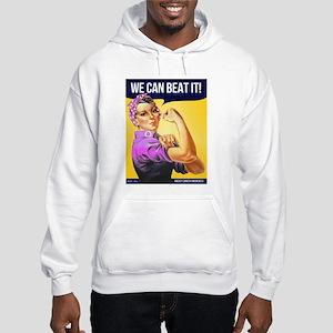 Rosie Can Beat Breast Cancer Hooded Sweatshirt