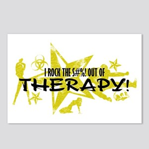 I ROCK THE S#%! - THERAPY Postcards (Package of 8)