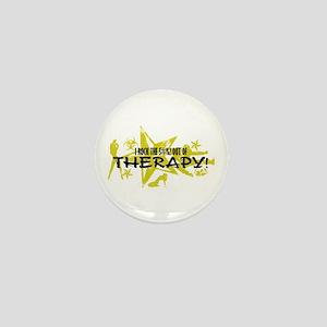 I ROCK THE S#%! - THERAPY Mini Button
