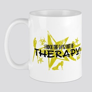 I ROCK THE S#%! - THERAPY Mug