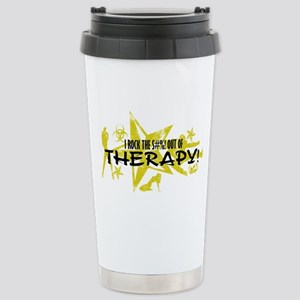 I ROCK THE S#%! - THERAPY Stainless Steel Travel M